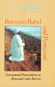 Cover of: Between Babel and Pentecost by