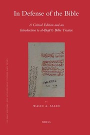 Cover of: In defense of the Bible | Walid A. Saleh