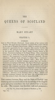 Cover of: Lives of the queens of Scotland and English princesses: connected with the regal succession of Great Britain