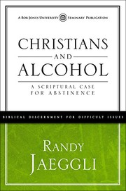 Cover of: Christians and Alcohol |