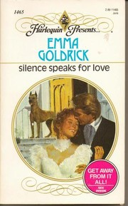 Cover of: Silence Speaks for Love