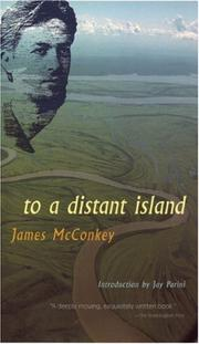 Cover of: To a distant island | James McConkey