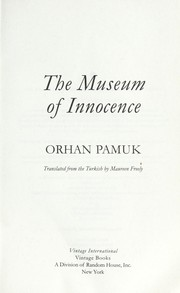 Cover of: The museum of innocence