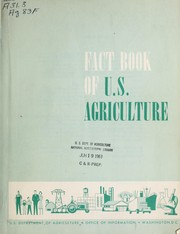 Cover of: Fact book of U.S. Agriculture