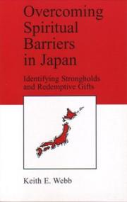 Cover of: Overcoming spiritual barriers in Japan