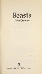 Cover of: Beasts | John Crowley