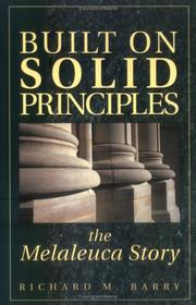 Cover of: Built on solid principles