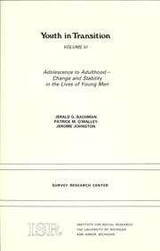 Cover of: Adolescence to adulthood