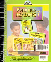 Cover of: Phonics and Reading 1 For Christian Schools
