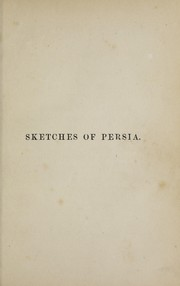 Cover of: Sketches of Persia | John Malcolm