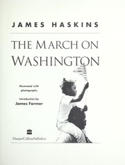 Cover of: The March on Washington