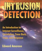 Cover of: Intrusion detection