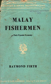 Cover of: Malay fishermen : their peasant economy