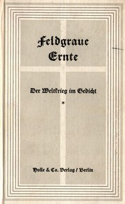 Cover of: Feldgraue Ernte