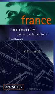 Cover of: art-SITES France