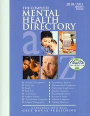 Cover of: The Complete Mental Health Directory |