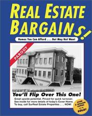 Cover of: Real Estate Bargains! Homes You Can Afford ... But May Not Want