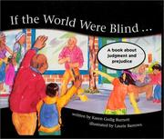 Cover of: If the World Were Blind..