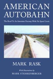 Cover of: American Autobahn | Mark Rask