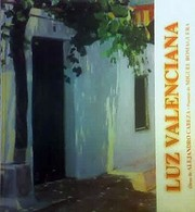 Cover of: Luz Valenciana by Alejandro Cabeza