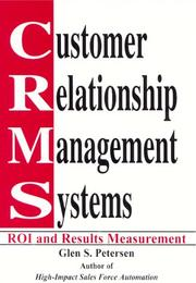 Cover of: Customer Relationship Management Systems