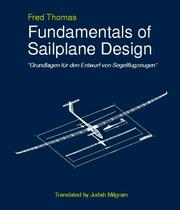Cover of: Fundamentals of sailplane design