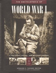 Cover of: The Encyclopedia of World War I