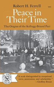 Cover of: Peace in their time