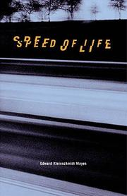 Cover of: Speed of life