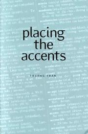 Cover of: placing the accents