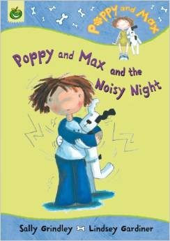 Poppy and Max and the Noisy Night by by Sally Grindley;  illustrated by Lindsey Gardiner