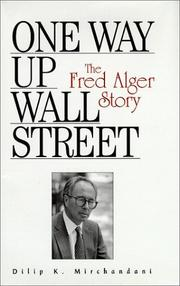 Cover of: One way up Wall Street, the Fred Alger story