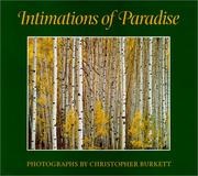 Cover of: Intimations of paradise