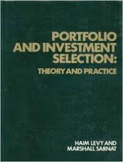 Cover of: Portfolio and investment selection