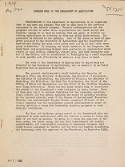 Cover of: Defense work of the Department of Agriculture | United States. Department of Agriculture. Office of Information