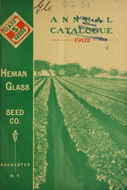 Cover of: Annual catalogue | Heman Glass Seed Co