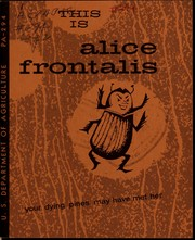 Cover of: This is alice frontalis | Southern Forest Experiment Station (New Orleans, La.)