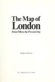 Cover of: The mapof London