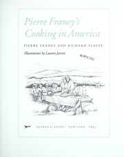 Cover of: Pierre Franey's cooking in America