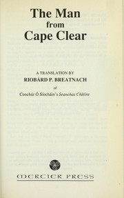 The man from Cape Clear by Conchúr Ó Síocháin