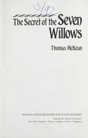 Cover of: The secret of the seven willows