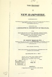 Cover of: The history of New-Hampshire