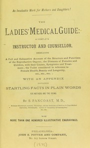 Cover of: The ladies' medical guide