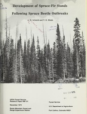 Development of spruce-fir stands following spruce beetle outbreaks by J. M. Schmid