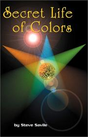 Cover of: Secret Life of Colors | Steve Savile