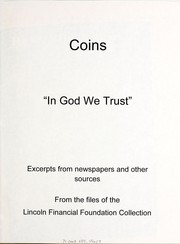 Cover of: Coins | Lincoln Financial Foundation Collection