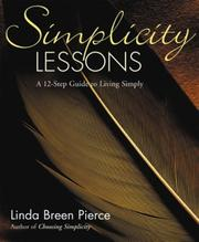 Cover of: Simplicity Lessons