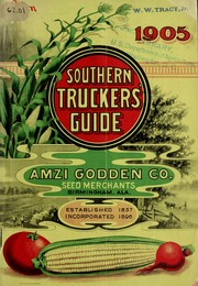 Cover of: 1905 southern truckers guide | Amzi Godden Company