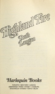 Cover of: Highland Fire | Ruth Langan, Ruth Ryan Langan