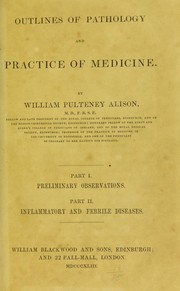 Cover of: Outlines of pathology and practice of medicine